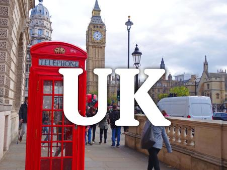 Destination: United Kingdom
