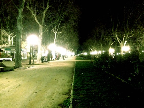 Night in Montpellier