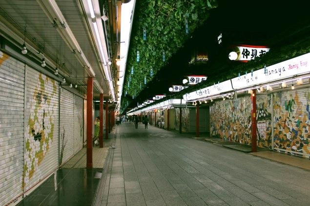 Senso-ji Nakamise shopping street