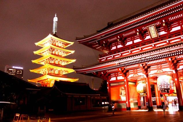 Senso-ji Temple Asakusa Tokyo