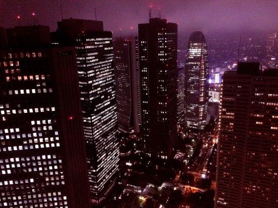 Tokyo metropolitan government building night