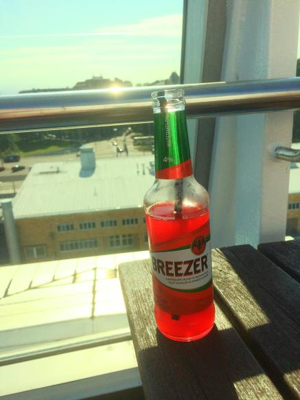 breezer on cruise