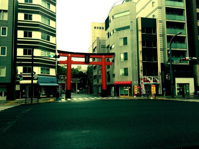 Urban Torii gate
