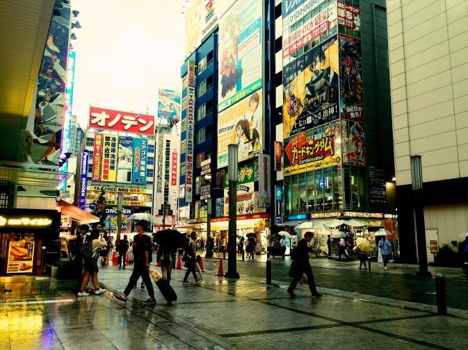 colors of Akihabara