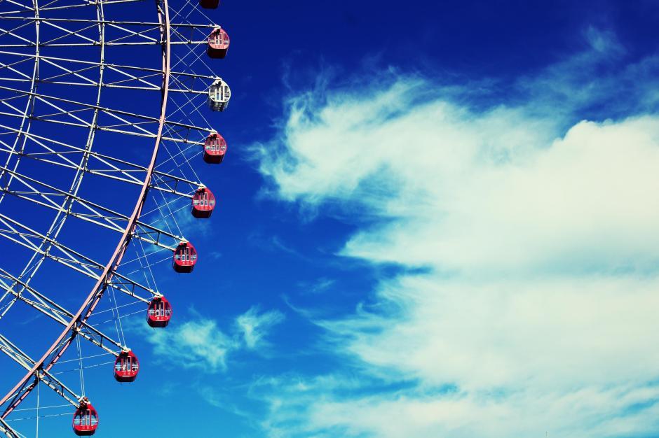 Pink Ferris Wheel Osaka