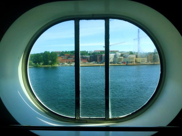 sea cruise ship sweden