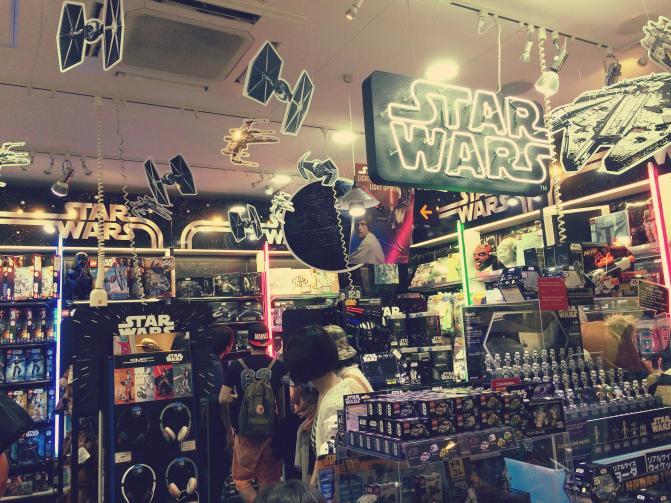 Star Wars Toystore Tokyo Japan