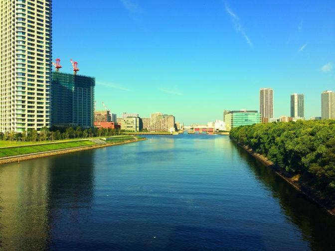 Urban river Tokyo