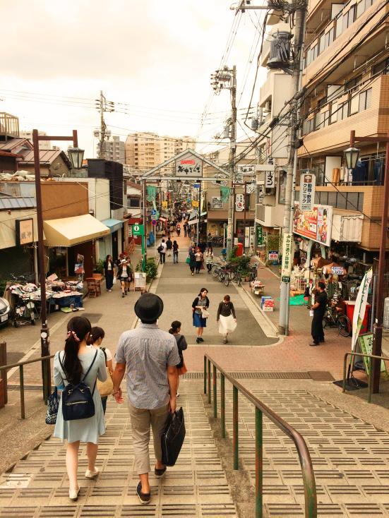 idyllic alley in Tokyo