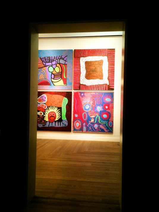 Yayoi Kusama art colorful