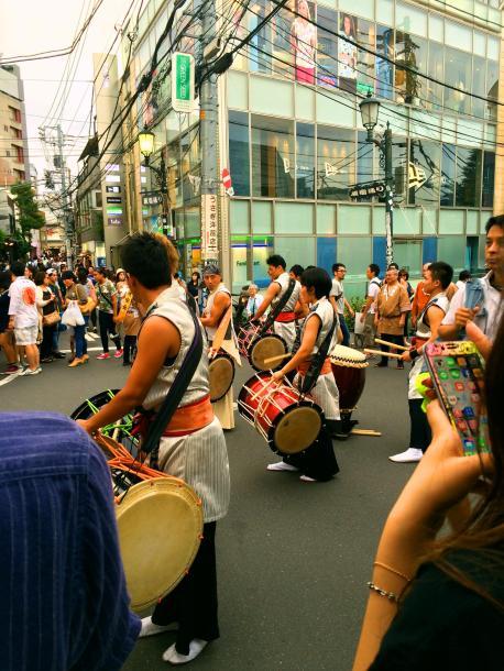 tokyo harajuku street performance