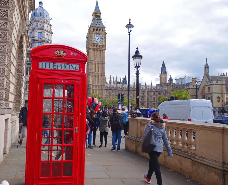 Big ben and Telephone box London