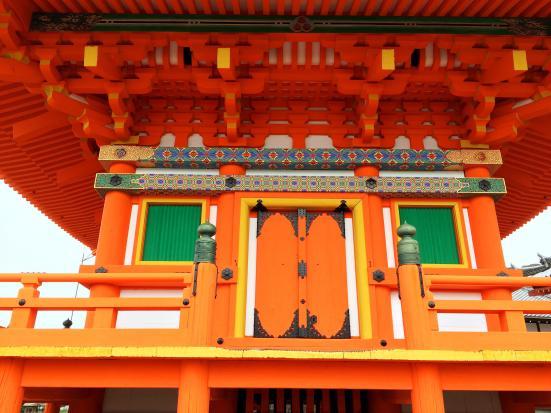 Japanese red shrine