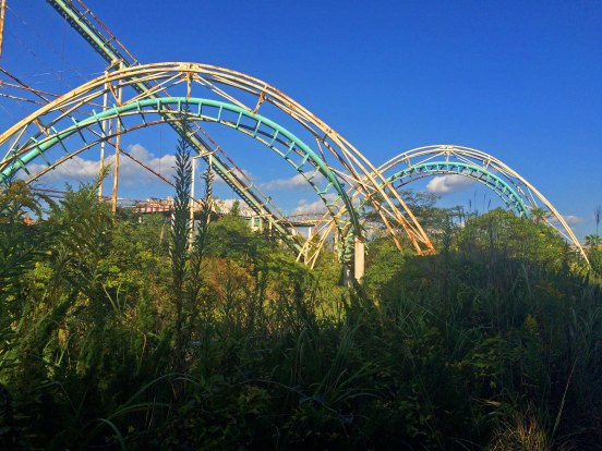 abandoned roller coaster nara dreamland