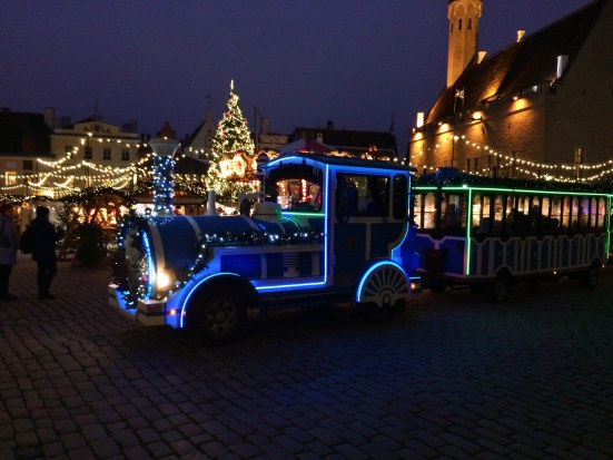 Tallinn's Christmas Market Train