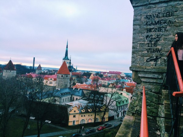 Tallinn's Old Town Quote