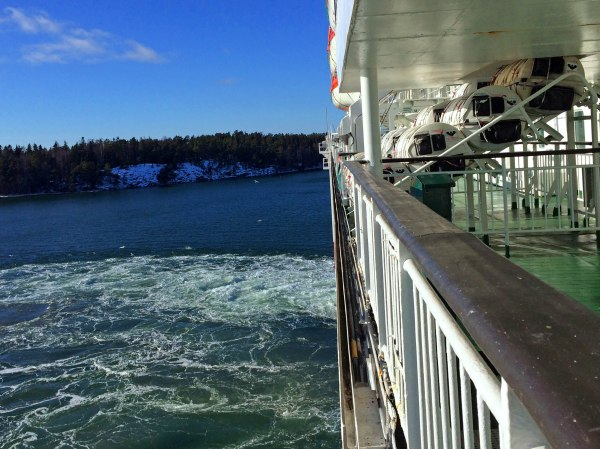 Travel Diary: cruise ship and sea