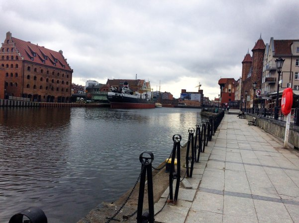 Gdansk RIver Side Walk