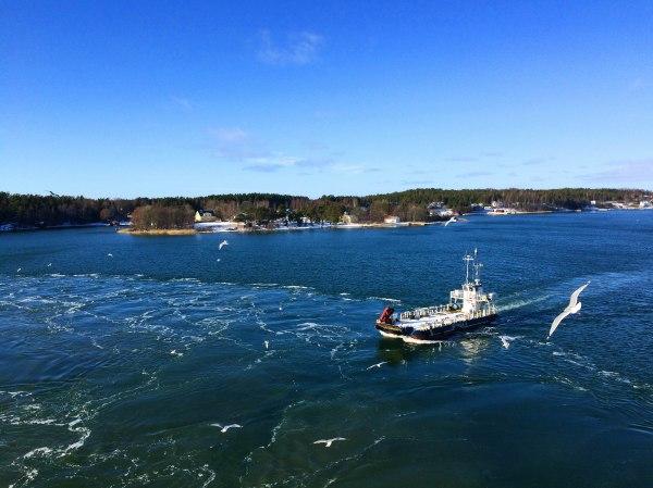 stockholm cruise sea