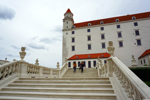 Travel Blog: girl travelers in Bratislava