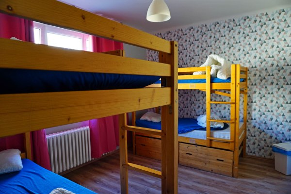 Travel Blog: Hostel room in Bratislava