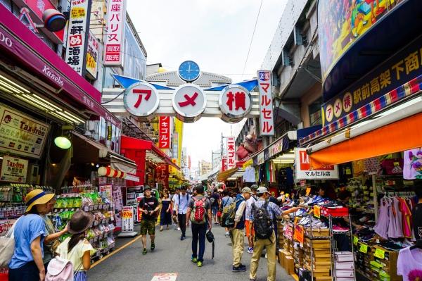 Tokyo Ueno Streets